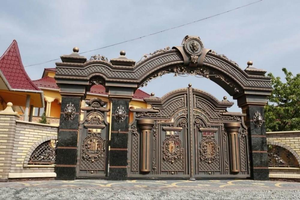Фотографии арочные ворота